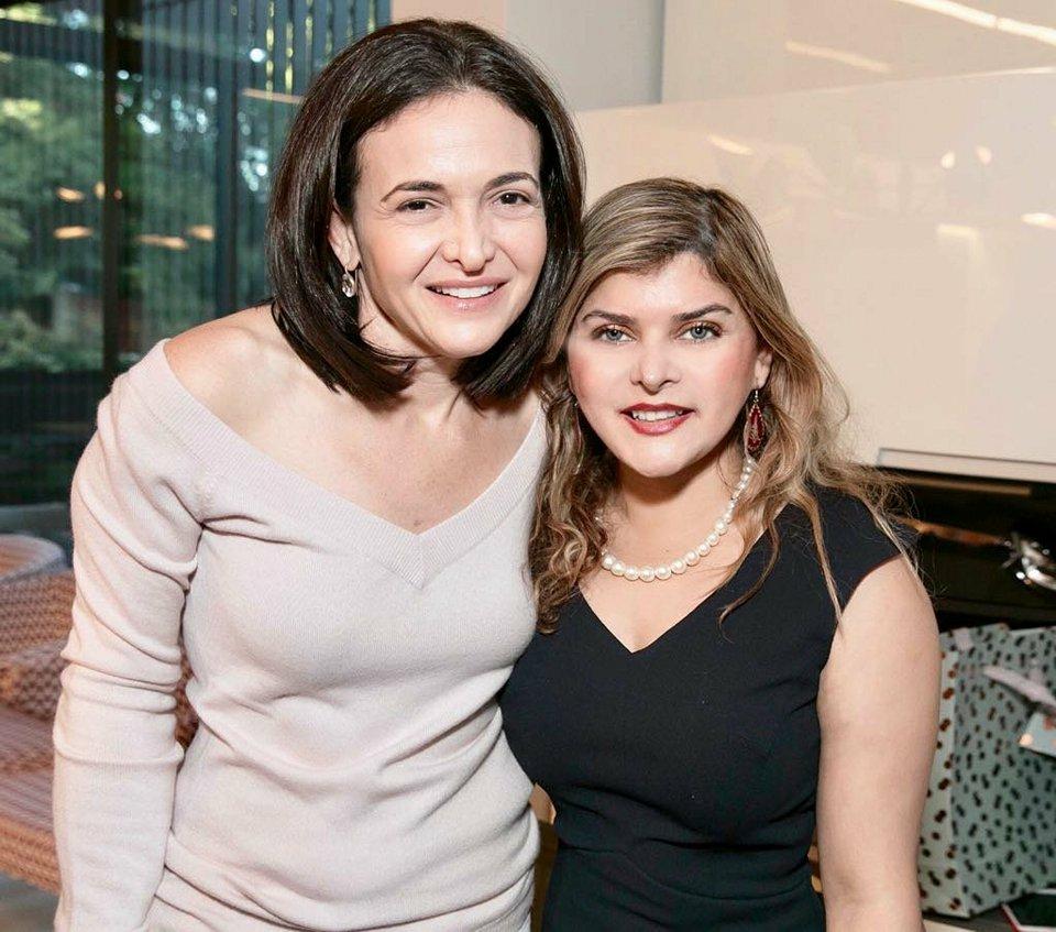 Sheryl Sandberg & Tara Uzra dawood